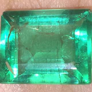 (8.00 Cts) Natural Emerald (裸石)