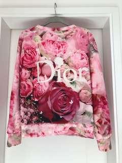 Pink flowers Top