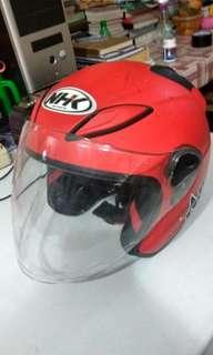 Helm NHK Maroon #kanopixcarousell