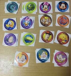 香港迪士尼樂園貼紙