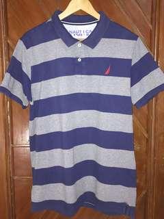 Nautica Polo Shirt Stripes