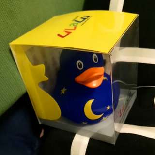 Designed by LiLaLu in Germany Rubber duck with moon and stars