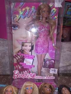 Glitter Nails Barbie