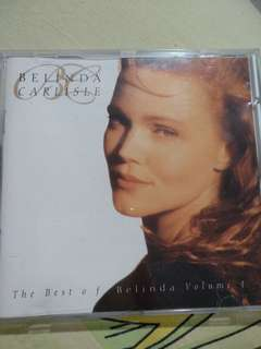 Pop CD - Belinda Carlisle The Best Of