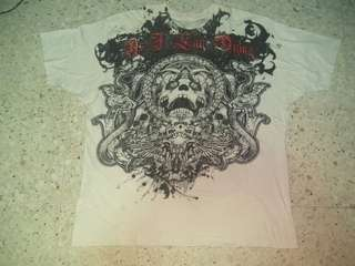 FOR SALE : AS I LAY DYING - THE POWERLESS RISE BAND T-SHIRT