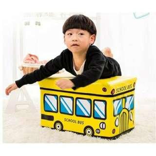 Storage Box Bus kotak penyimpanan mainan
