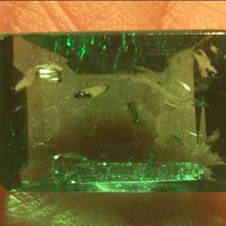 (11.35Cts) Natural Emerald (裸石)
