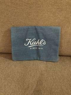 Kiehl's clutch bag/ makeup bag