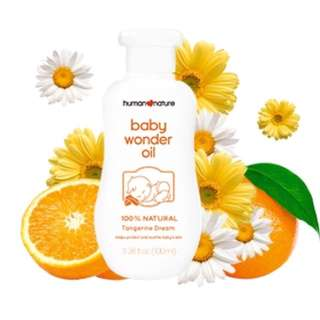 Human Nature Baby Oil