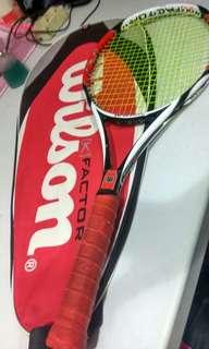 Raket Tennis Wilson + Bag #kanopixcarousell