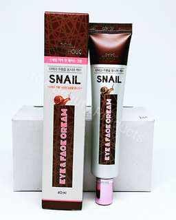 Foodaholic Snail Eye And Face Cream 40ml