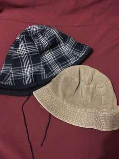 Reversible Fisherman's Hat Cap (2) - BUNDLE