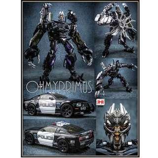 <URGENT> Pre-order for Black Mamba BMB LS-02 LS02 Bottleneck - KO Transformers Move Masterpiece MPM-5 MPM5 Barricade