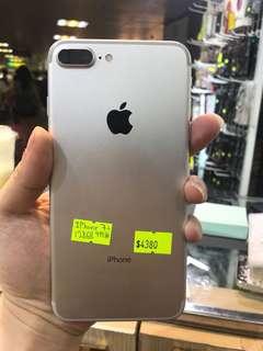 iPhone 7 Plus 128gb 99%新,一年店舖保養