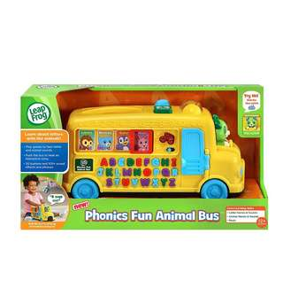 🚚 BN LeapFrog Alphabet Phonics Bus