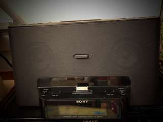 Sony personal audio system (Braava 380t)