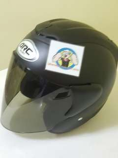 0906*** ARC RITZ V Tinted Black Visor Helmet For Sale 😁😁Thanks To All My Buyer Support 🐇🐇 Yamaha, Honda, Suzuki