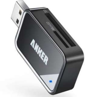 Anker 8-in-1 USB 3.0 Card Reader SDXC SDHC SD RS-MMC Micro UHS-I