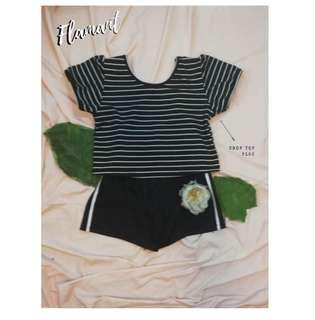 Stripes crop tpp