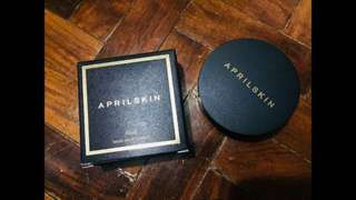 April skin cushion black auth