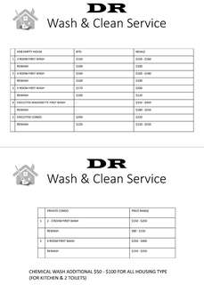 DR CLEANING - Pm for more information 😊