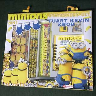 🚚 New Minions Stationary Set