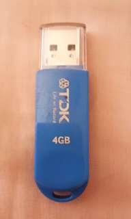 TDK USB 4gb