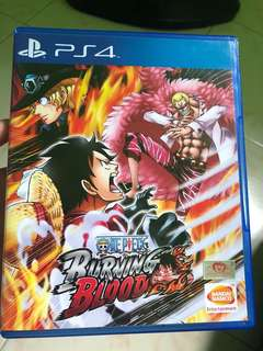 PS4 One Piece Burning Blood to trade for Fallout 4