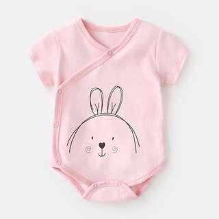 🚚 Little Rabbit Kimono Romper/Bodysuit