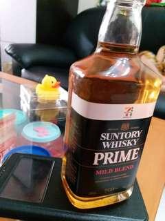 三得利Torys Extra 威士忌300ml 日本7仔專賣特别版一支。