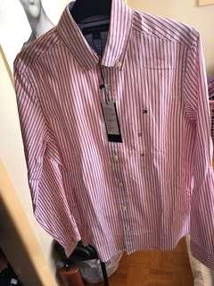 New Tommy Hilfiger button up shirt