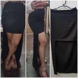 Preloved long back pencil skirt