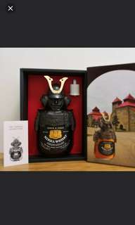 舊版NIKKA 余市武將G&G威士忌 750ml with box.