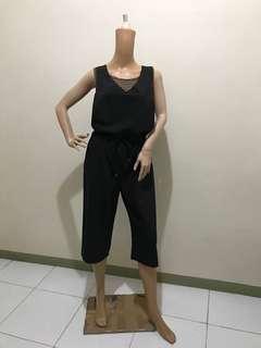 Size L/XL Jumpsuit Wide Leg Adjustable Waist