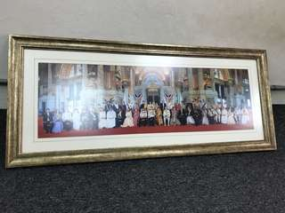 Picture Frame Royal King Of The World