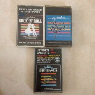 Hooked On Instrumental Music Cassette Tapes Kaset