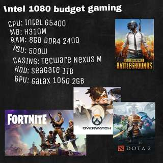 [BIFY] Intel Budget Gaming PC without burning a hole in pocket