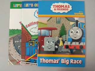 Thomas & Friends colouring and story book set