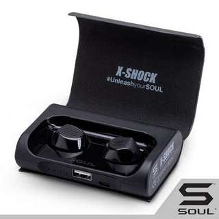 Soul X-Shock 藍芽耳機