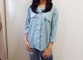 NEW PRODUCT ( baby blue shirt )