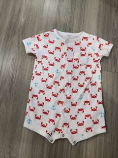 Preloved Carter's Baby Romper and baby pyjamas