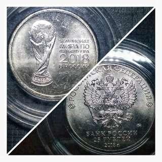 俄羅斯世界杯記念幣