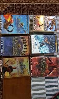 Heroes of Olympus series