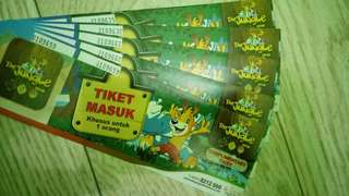 TIKET THE JUNGLE MURAH (JUMLAH TERBATAS)