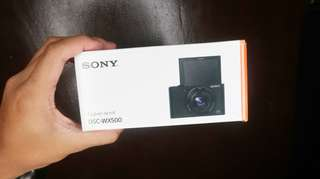 (Vlogging Camera) Sony Cyber-shot DSC-WX500