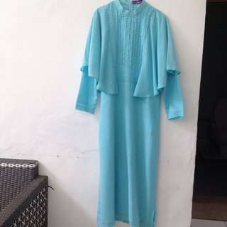 Rabbani Baby Blue Gamis ORIGINAL