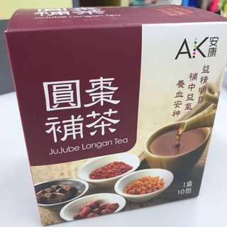 🈹唐安麒 圓棗補茶 (1盒10包)