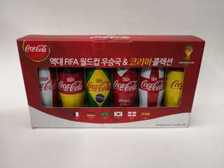Coca cola韓國2014年世界杯紀念樽