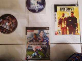 Game ps2 and one game xbox