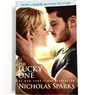 The Lucky One by Nicholas Sparks (romance book)